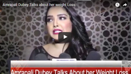 Amrapali Dubey loosing her weight, will find more pretty Amrapali in her next