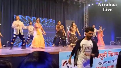 Amrapali Dubey's stage breaking performance in Bhojpuri Film Awards 2017