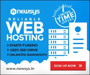 Web hosting India Banner